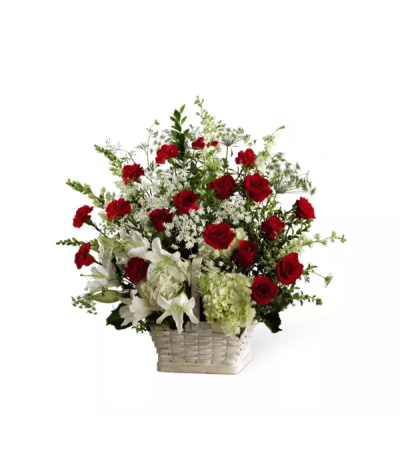 FTD's In Loving Memory™ Basket Arrangement
