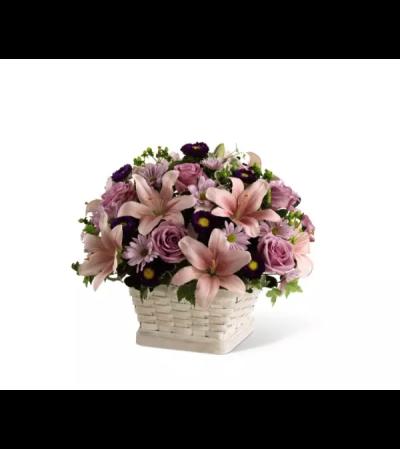 The Loving Sympathy™ Basket Arrangement