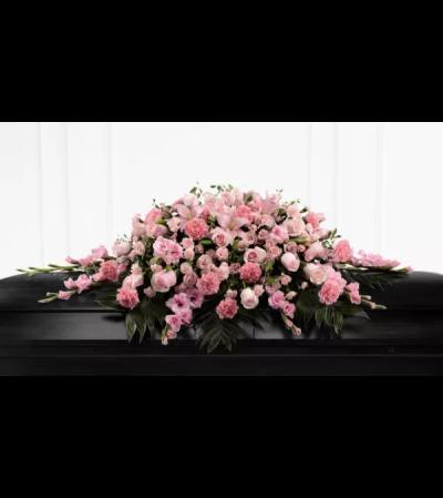 Sweetly Rest™ Casket Spray by FTD Flowers