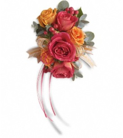 Sunset Beauty Wrist Corsage *PLEASE CALL TO ORDER*