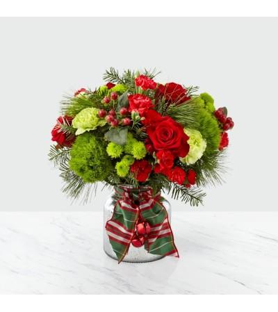 The FTD Jingle Bells Bouquet 2019