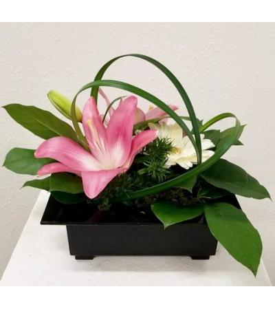 Lily and Gerbera Artistry
