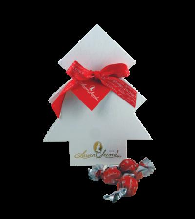 Laura Secord signature chocolates xmas tree box