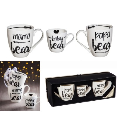 Bear Family, Java Cup Gift Set II