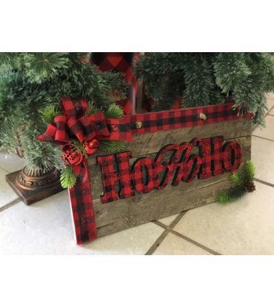 Wooden HOHOHO
