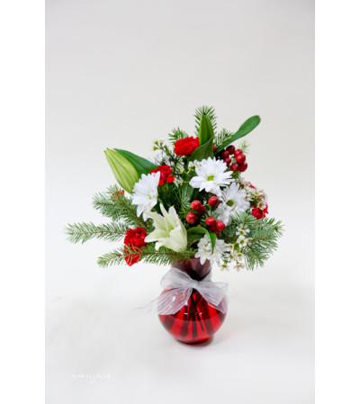 Christmas Vase #22