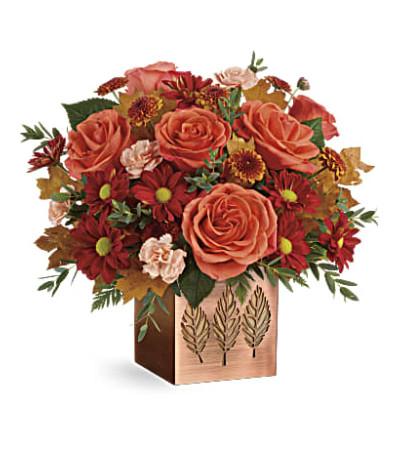 A Bronze Leaf Bouquet