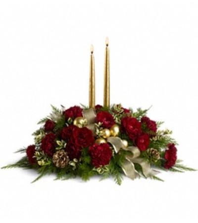 Teleflora Crimson and Candlelight