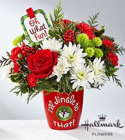 FTD Jingle all the Way Bouquet