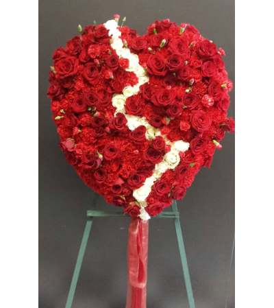 Beautiful Broken Heart 18 inch
