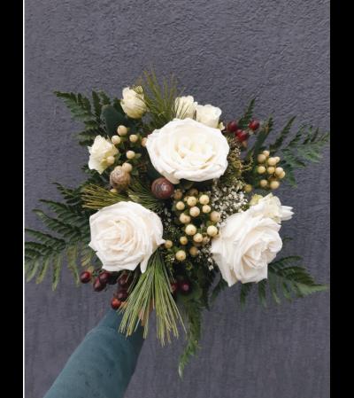 Firelight & Frost Winter Bouquet