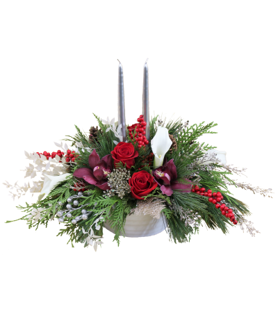 Royal Holiday Centerpiece