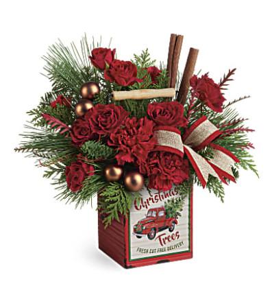 Teleflora Merry Vintage Christmas
