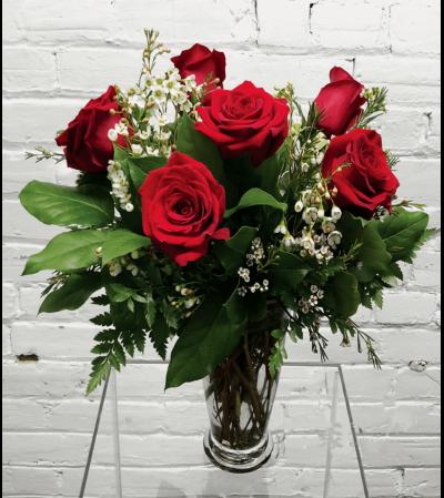 Red Roses-1/2 Dozen