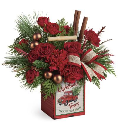 Tele Merry Vintage Christmas