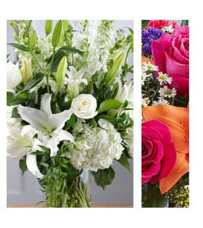 Bright Mix-Large Vase Arrangement