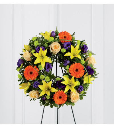 The FTD® Radiant Remembrance™ Wreath