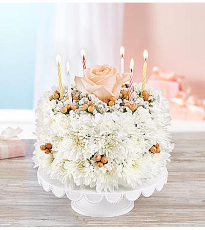 Birthday Wishes Flower Cake™ Sweetness
