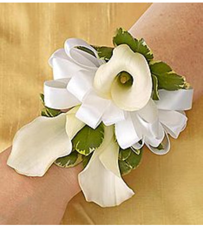 Corsage All White