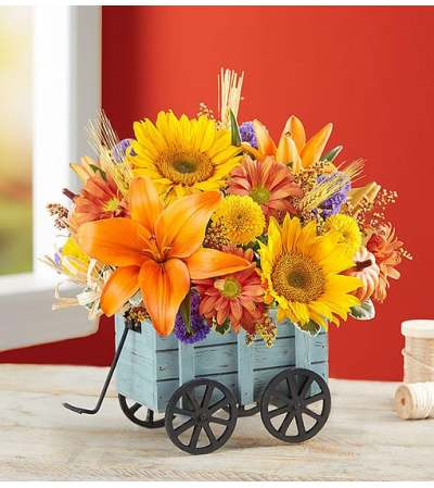 Harvest Hayride™Flower Arrangement