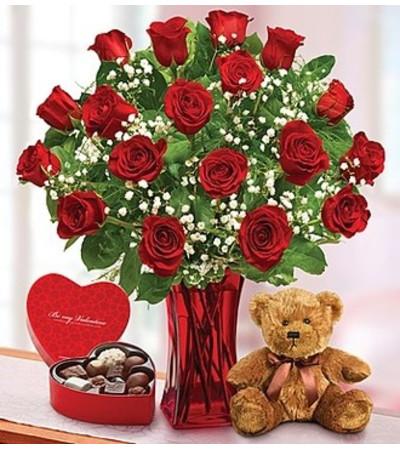 Abundant Love™  with Bear and Chocolate