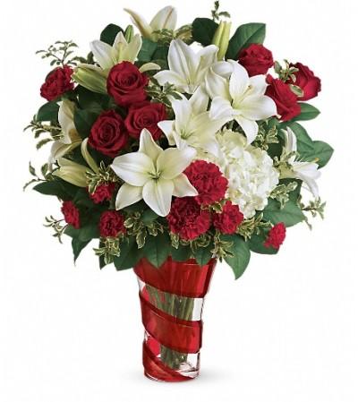 Teleflora's Work Of Heart Bouquet