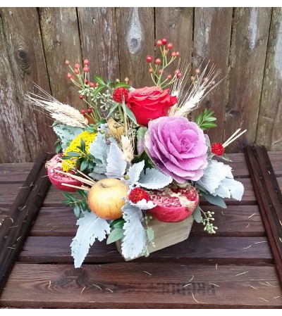 Farm to table centerpiece