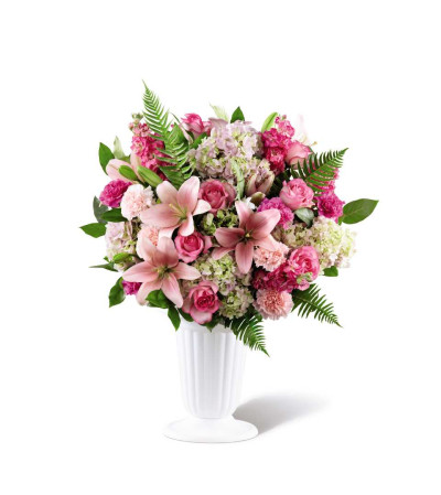 The FTD® Never-Ending Love™ Urn Arrangement