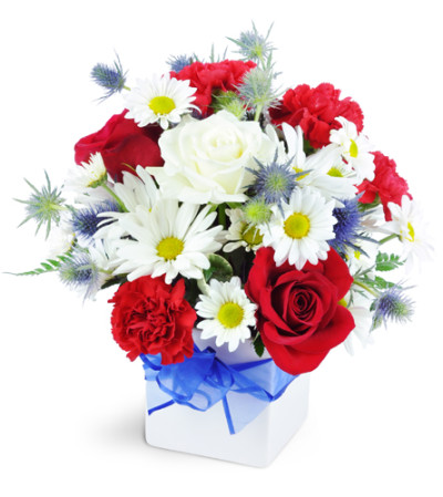 Red white and true amityville ny florist heavenly flowers toos assurance mightylinksfo