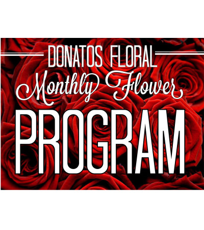 Platinum 6 Month Floral Program