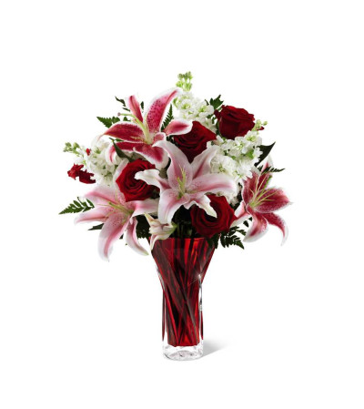 The FTD® Anniversary Bouquet - Red