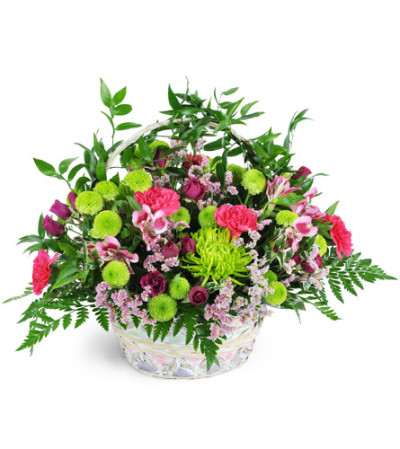 Beautiful Blooms Basket™