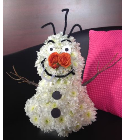 Disney's Olaf Floral Character