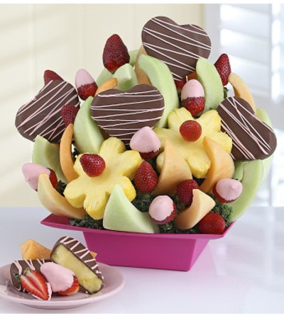 My Heart Is Yours™ Fruit Bouquet