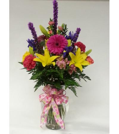 A Vibrant Vase