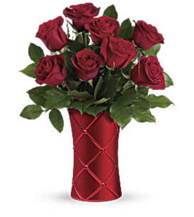 Teleflora's Crimson Luxury Bouquet