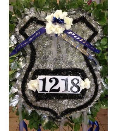 Custom Funeral Police Officer Sympathy