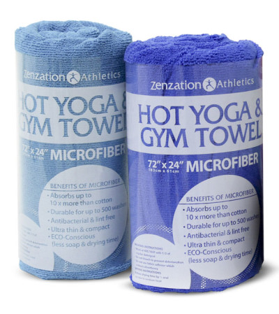 Zenzation Athletics Hot Yoga & Gym Towel