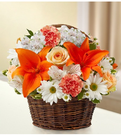 Peace, Prayers & Blessings - Peach, Orange &