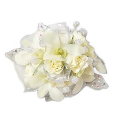 Starlight Orchids Corsage