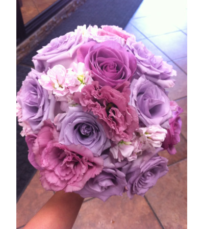 Magenta and Lavender Bouquet
