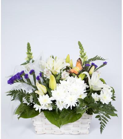 Nature in Full Bloom Basket