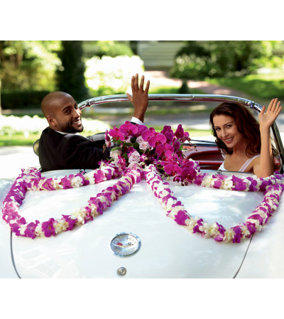 The FTD® Promise of Love™ Car Décor