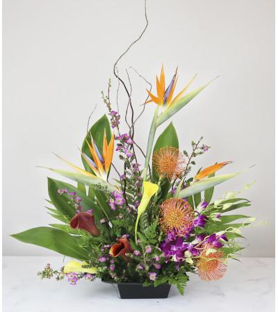 Exotic Flower Dish