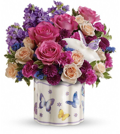 Teleflora's Dancing In Joy Bouquet