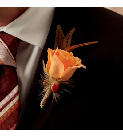 The FTD® Free Spirit™ Boutonniere