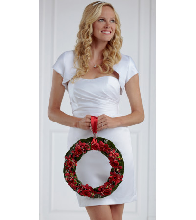 The FTD® Our Special Vows™ Bridal Wreath