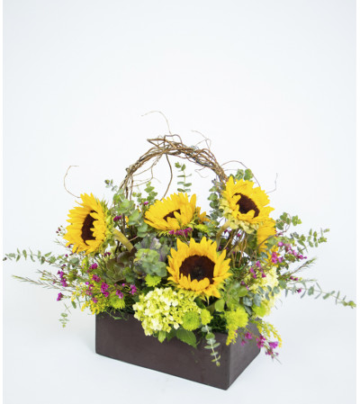 Gorgeous Sunflower Box