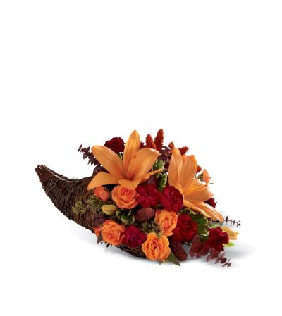 The FTD® Harvest Home™ Cornucopia
