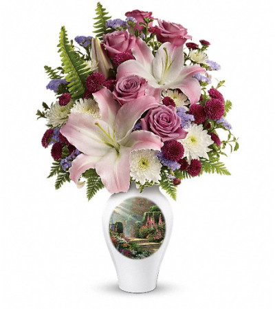 Thomas Kinkade's Moments Of Grace by Teleflora